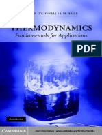 Thermodynamics Fundamentals for Applications