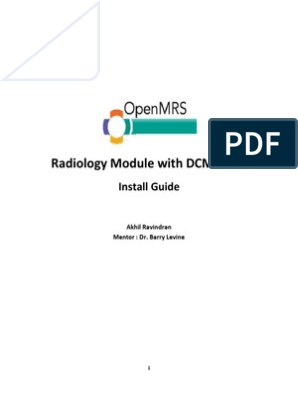 Install Guide OpenMRS   My Sql   Computing