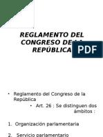 organizacion parlamentaria