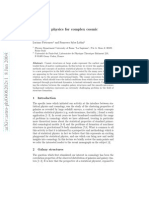 Statistical physics for complex cosmic structures