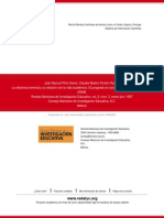 La eficiencia terminal y su relación con la vida académica. El posgrado en sociología y ciencia política de la UNAM.pdf