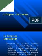 A.-la Empresa y Las Finanzas