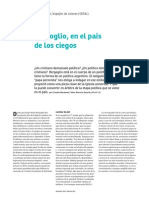 Claudio Mardones - Bergoglio en El País de Los Ciegos