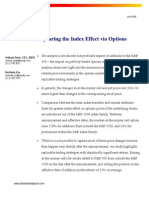 500 Index Effect Options