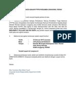 Surat Maklum Program Bantuan Pasca Banjir PTPN