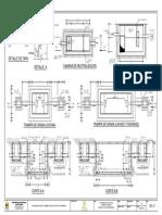 Plano DP - 15 Tratamiento de Aguas - Trampa de Grasa