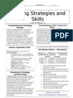 u5w3 reading skills and strategies