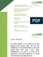 Estructura de Datos - Árboles