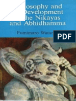 Philosophy and Its Development in the Nikayas and Abhidhamma