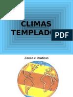 CLIMAS TEMPLADOS