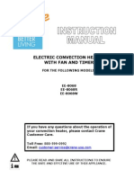 Crane Convection Heater Manual