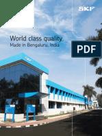 Bengaluru Factory Brochure