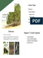 SSS1207 Lecture 10 Coastal Vegetation 2015 IVLE Version1