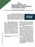 Organizaciones No Gubernamentales v109n(5-6)p512