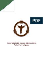 Propuesta de Vigilia de Oración Padre Pio