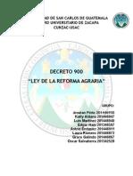 Ley de La Reforma Agraria
