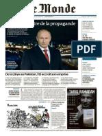 Le Monde Du Jeudi 12 Février 2015