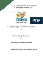 Importancia y evolución de la escritura.docx