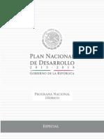 PROGRAMA Nacional Hidrico 2014 2018