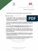 11-02-14 Índice SHF de Precios a la Vivienda en México