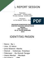 CLINICAL REPORT SESSION Tumor Colli Imam Feby (Anestesi)