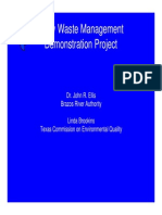 Dairy Waste Management Project