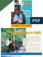 Planting Hope in Haiti