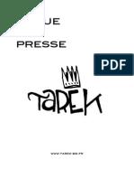 Revue de Presse de Tarek