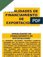 5.MODALIDADES DE FINANCIAMIENTO DE EXPORTACIONES - copia.pptx