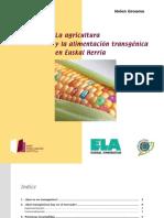 Transgénicos en Euskal Herria