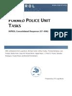 Formed Police Unit (FPU) Tasks (CR 07-006)