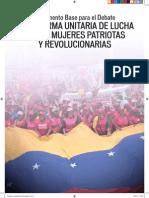 Documento Base para el Debate Congreso Venezolano de Las MujeresII