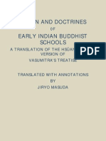 Origin and Doctrines of Early Indian Buddhist Schools
