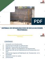 Sistemas de Estabilización en Excavaciones Profundas
