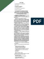 Ley Nº 29387- Modificación del Art.18 de la Ley Nº 28094, LPP