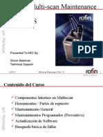 Multiscan Maintance vs - (Espanish)
