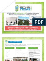 Earth Day Texas 2015 Eco-Conference