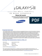 ATT SGH-i777 GalaxyII Spanish User Manual