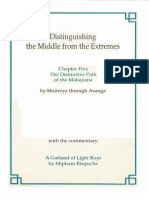 Distinguishing the Middle From the Extremes Ch 5 With Commentary by Mipham