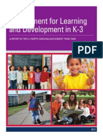 DPI Early Childhood Think Tank KEA