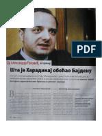 Sta je Haradinaj obecao Bajdenu