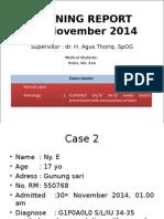 Preterm Letsu 01 DESember 2014