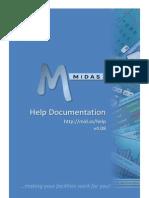MIDAS Manual v4.08
