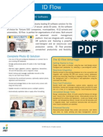 Id Flow Datasheet - Innovative Photo ID Card Software