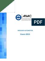 ANAC Informe Mercado Automotor - Enero 2015