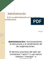 (C-1)La Administracion en Las Ant. Civilizaciones