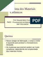 3-Materiais Cermicos - Queima