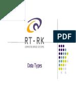 C Course - Data Types