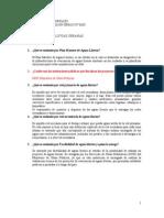 Cuestionario N°2 (Manejo de Aguas Lluvias Urbanas  23.10.2014)