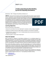 AU-2014_6739_A Hardware Wonk's Guide to Specifying the Best 3D and BIM Workstations 2014 Edition